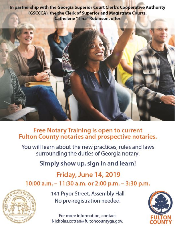 Notary Training Flyer 2019 New